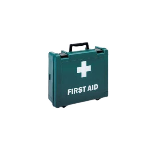 First aid kit - Green wall mounted