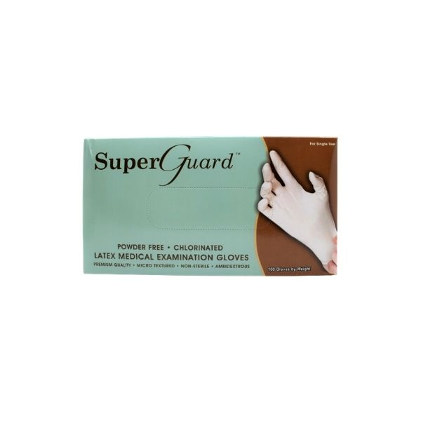 Gloves Latex Powder free(SUPER GUARD)