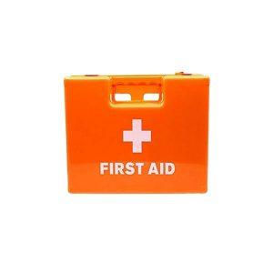 First aid kit - Orange wall mounted